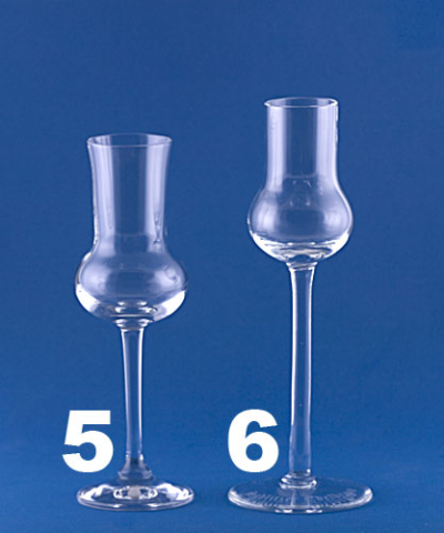 Destillate Glas