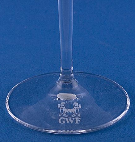 Destillate Glas Bodendekor