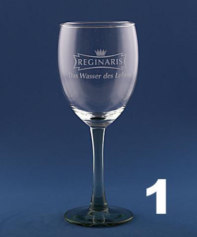 Mineralwasser Glas